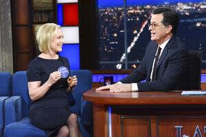 Kirsten Gillibrand, Stephen Colbert