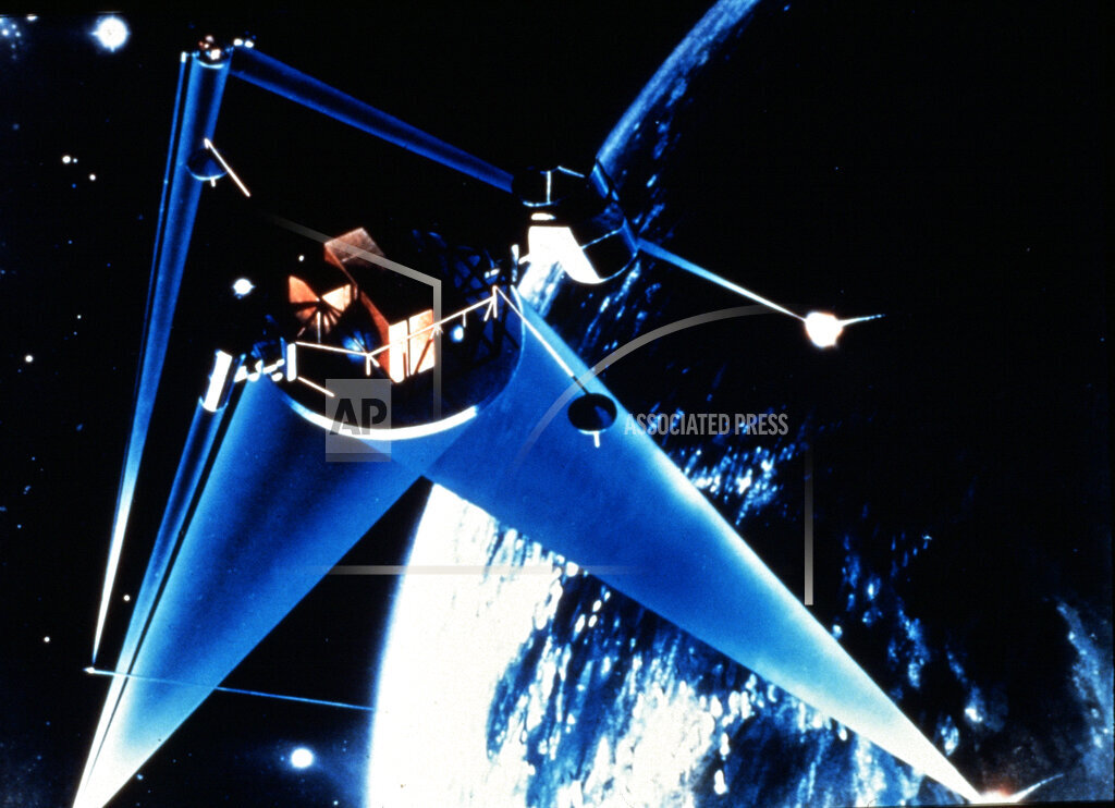Associated Press Domestic News In Space U.S. STRATEGIC DEFENSE