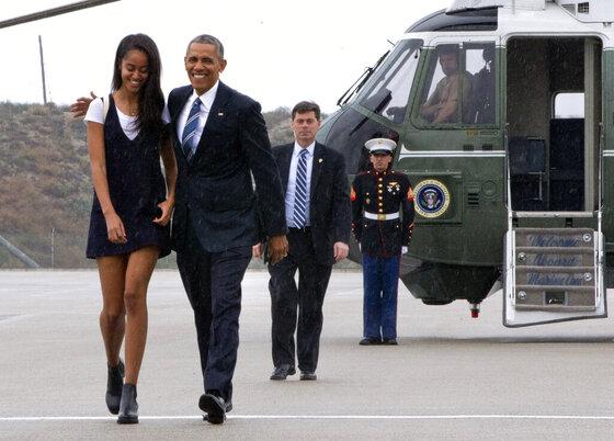 Barack Obama, Malia Obama