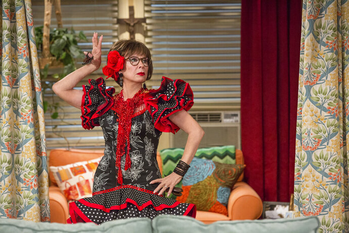 This image released by Netflix shows Rita Moreno in a scene from