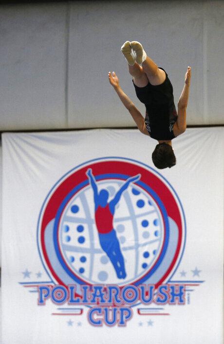 Trampoline Gymnasts