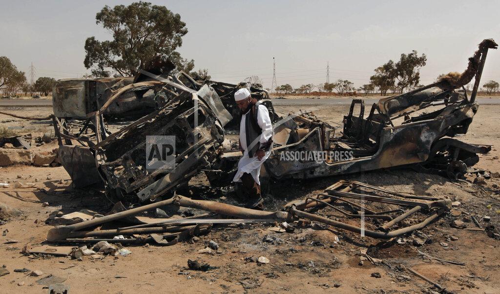 Mideast US Libya