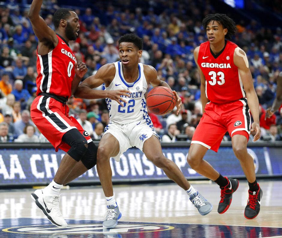 SEC Georgia Kentucky Basketball