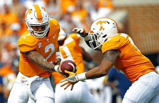 Tennessee-Unsettled Offense Football