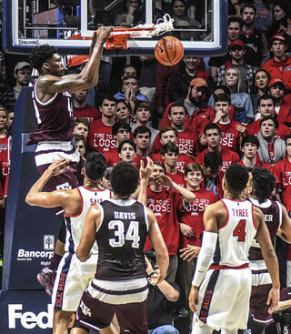 Texas A M Mississippi Basketball