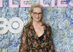 """FILE - Actress Meryl Streep attends the premiere of HBO's """"Big Little Lies"""" season two on May 29, 2019, in New York. Streep turns 72 on June 22. (Photo by Evan Agostini/Invision/AP, File)"""