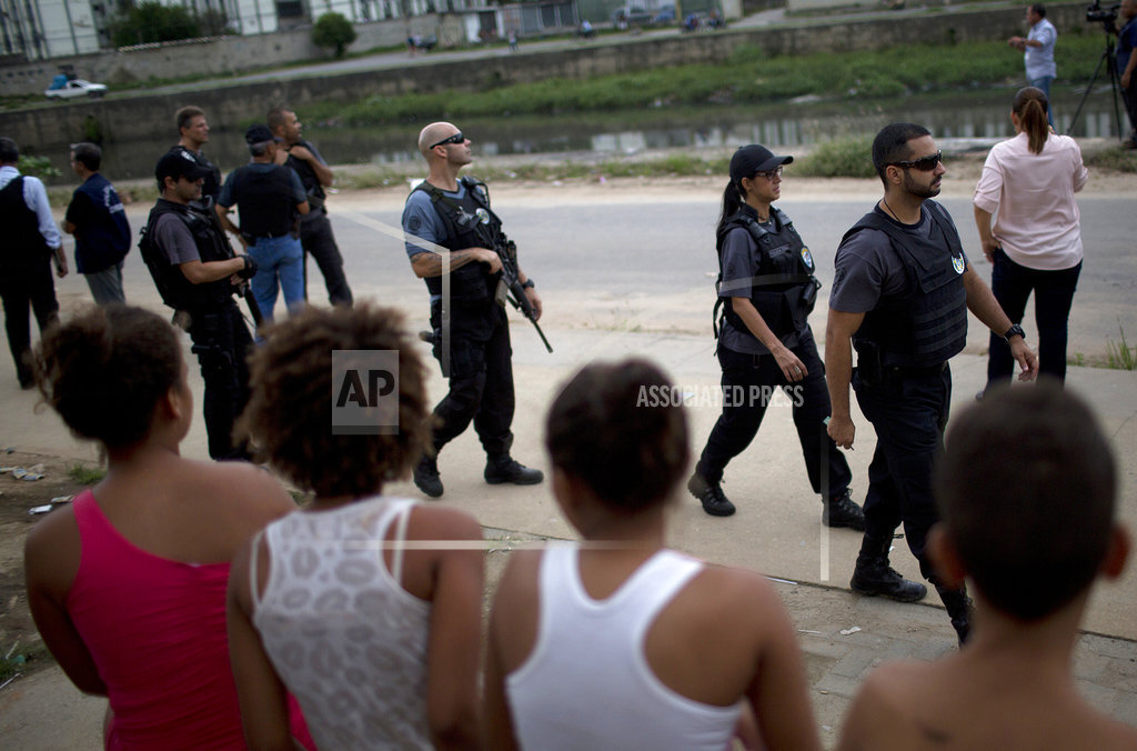 Brazil Rio Violence Schools