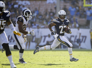 Chargers Verrett Football
