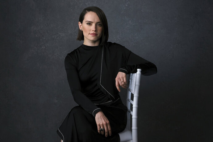 Daisy Ridley poses for a portrait to promote the film
