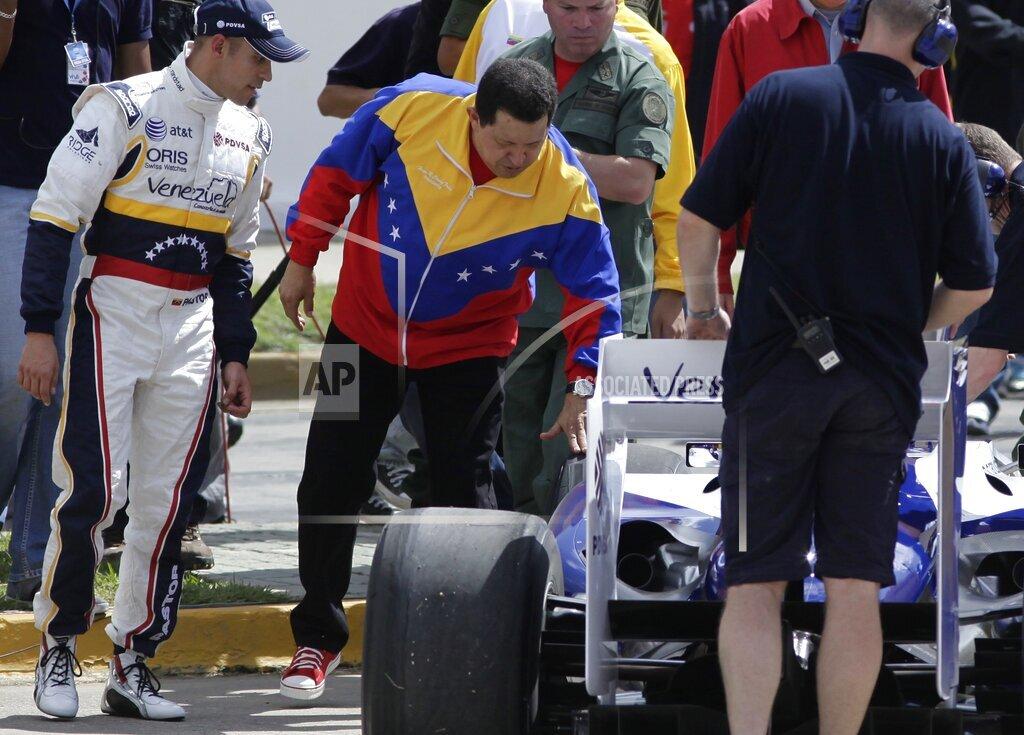 Venezuela F1 Maldonado