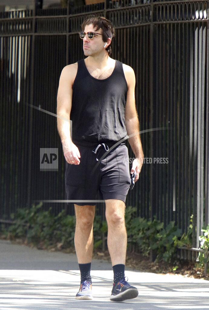 Zachary Quinto Seen In Soho