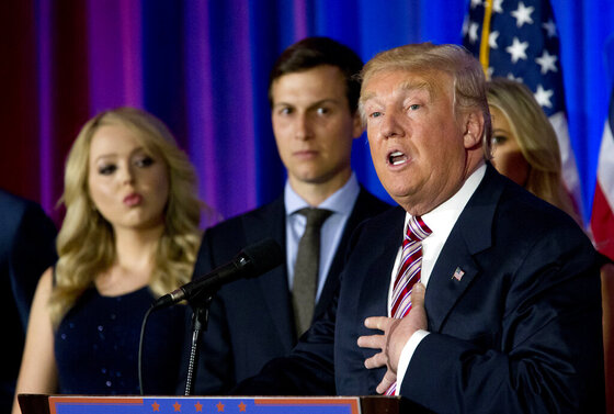 Donald Trump, Tiffany Trump, Jared Kushner