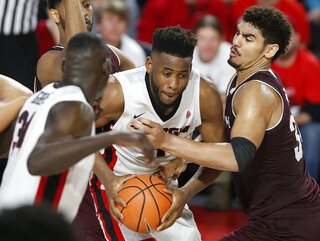 Texas A M Georgia Basketball