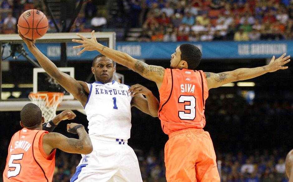 NCAA Final Four Kentucky Louisville Basketball
