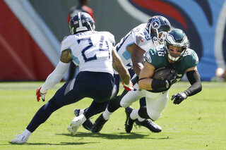 Eagles Titans Football
