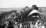In this Sept, 27, 1947, file photo, Muslim refugees crowd onto a train bound for Pakistan, as it leaves the New Delhi, India area. India has been embroiled in protests since December, when Parliament passed a bill amending the country's citizenship law. (AP Photo, File)