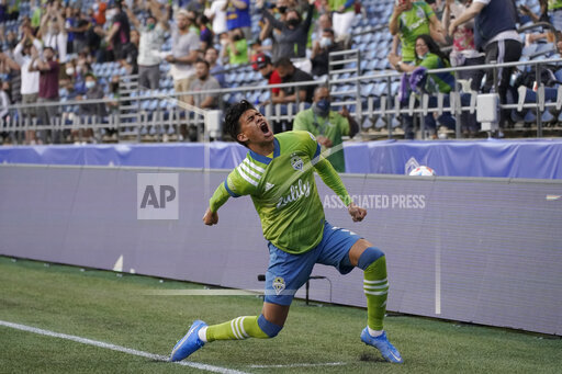 APTOPIX MLS Los Angeles FC Sounders Soccer