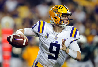 LSU Burrow Football
