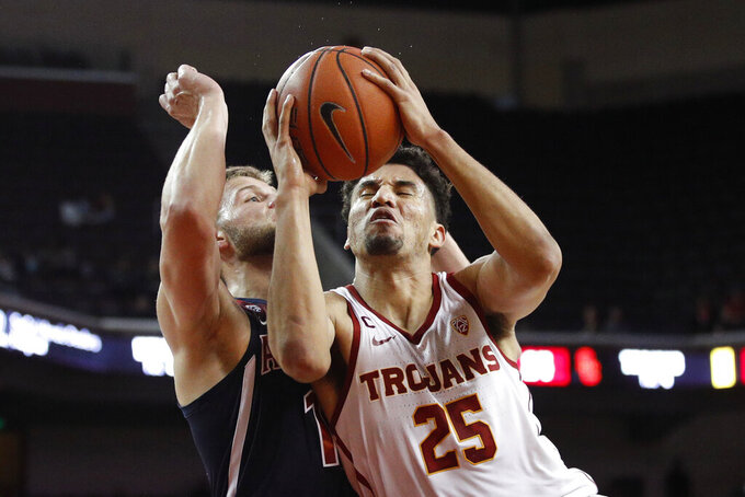 Rakocevic, USC dominate Arizona for 80-57 victory
