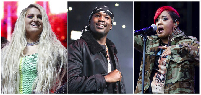 Meek Mill, Meghan Trainor named NFL Inspire Change advocates