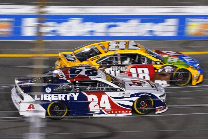 Truex leads 1-2-3 finish for Joe Gibbs Racing at Richmond