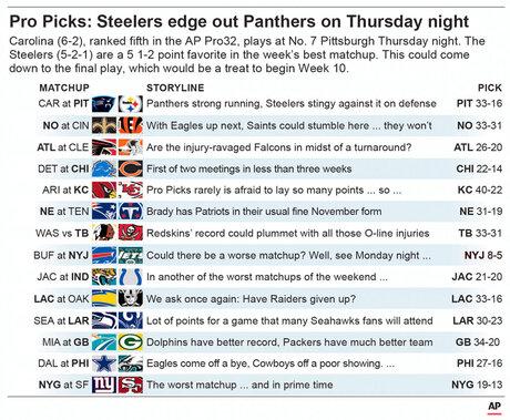 NFL PICKS WK 10