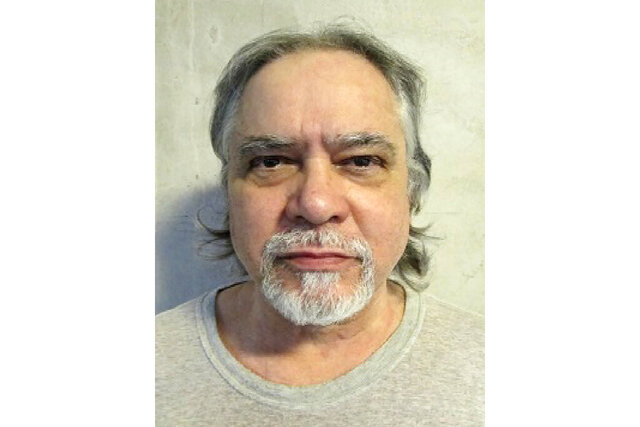 This undated photo provided by the Oklahoma Department of Corrections shows Carlos Cuesta-Rodriguez. The U.S. Supreme Court has denied the appeal of Oklahoma death row inmate Cuesta-Rodriguez, who was convicted and sentenced to death for the fatal shooting in 2003 of his common-law wife, Olimpia Cardina Fisher. The court's rejection of the appeal makes him eligible to be scheduled for execution, although Oklahoma has not put an inmate to death since executions were halted in 2015 following a series of bungled lethal injections. (Oklahoma Department of Corrections via AP)
