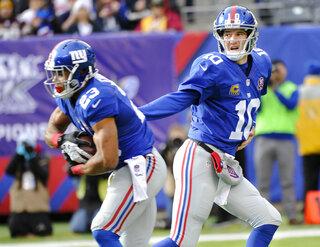 Eli Manning, Rashad Jennings