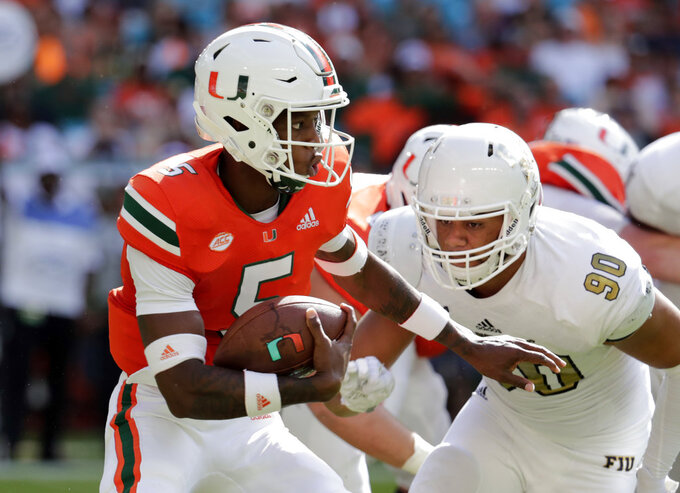 Georgia Tech motivated by last-second loss to Miami in 2017