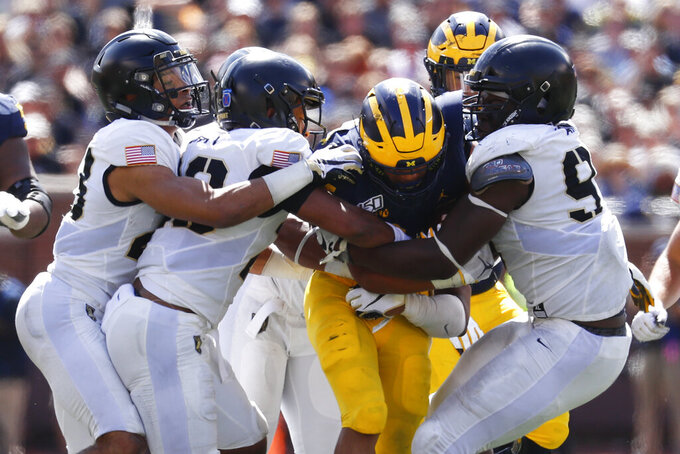 No. 10 Michigan has plenty to work on during early bye week