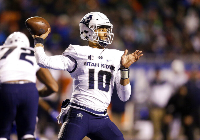 High-flying Utah State, North Texas meet in New Mexico Bowl