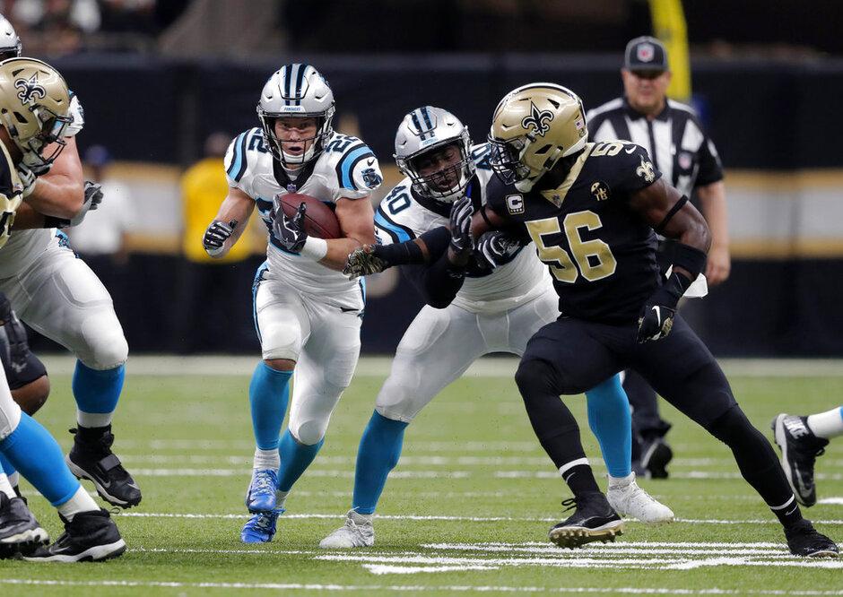 Panthers Saints Football