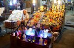 A street vender sells traditional Ramadan items in Baghdad, Iraq, Wednesday, May 16, 2018. Muslims throughout the world are preparing to celebrate Ramadan, the holiest month in the Islamic calendar, refraining from eating, drinking, smoking and sex from sunrise to sunset. (AP Photo/Karim Kadim)