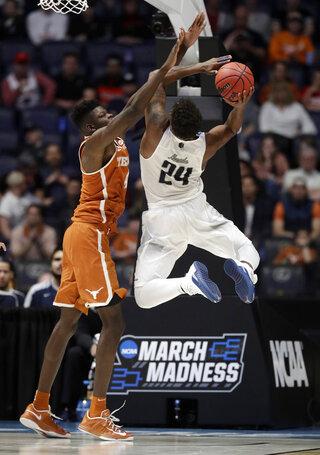 NCAA Texas Nevada Basketball
