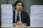 This image released by Amazon Studios shows Adam Driver in a scene from