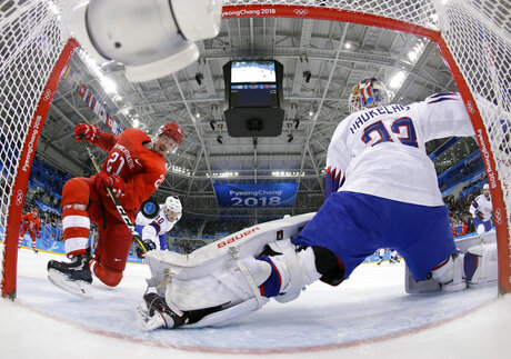 APTOPIX Pyeongchang Olympics Ice Hockey Men