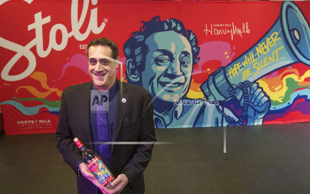 Stoli Vodka Harvey Milk Limited Edition Bottle Launch