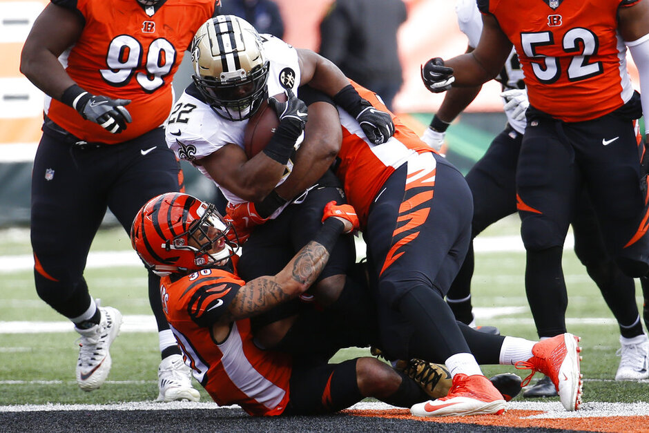 Saints Bengals Football