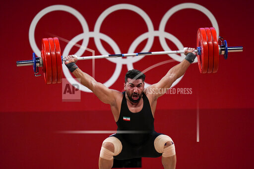 CORRECTION Tokyo Olympics Weightlifting