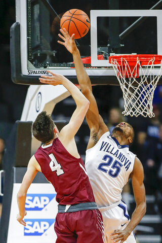 Villanova Lafayette Basketball