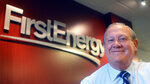 """FILE - In this 2015 file photo, FirstEnergy Corp. then-President and CEO Charles """"Chuck"""" Jones appears at the company's Akron, Ohio headquarters. Six top executives from the company have been fired, including Jones, since the alleged $60 million bribery case, involving ex-Ohio House Speaker Larry Householder and others. Federal authorities say the Akron-based FirstEnergy Corp. has agreed to a settlement that calls for the company to fully cooperate and pay a $230 million fine as part of a sweeping bribery scheme. The dismissal of Jones, who initially denied any wrongdoing by the company, appeared to be tied to a $4.3 million payment that FirstEnergy made in January 2019, purportedly to end a longstanding consulting contract with a person soon to be appointed Ohio's top utility regulator.  (Phil Masturzo/Akron Beacon Journal via AP, File)"""