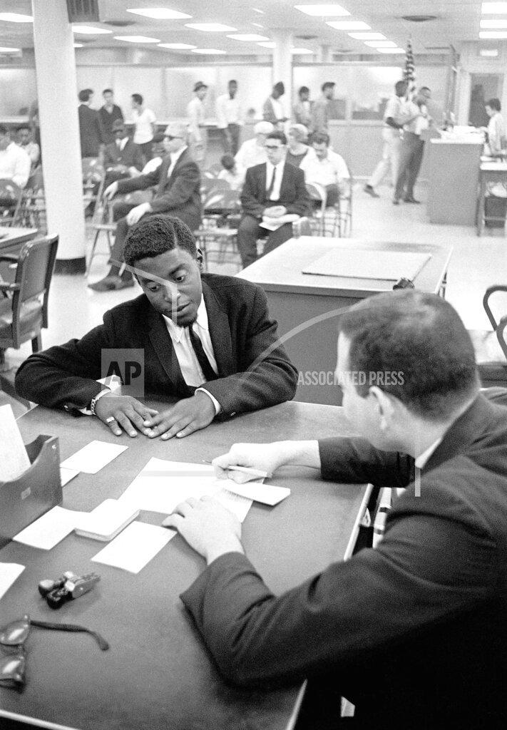 Watchf AP A  NY USA APHS254908 Black Unemployment 1963