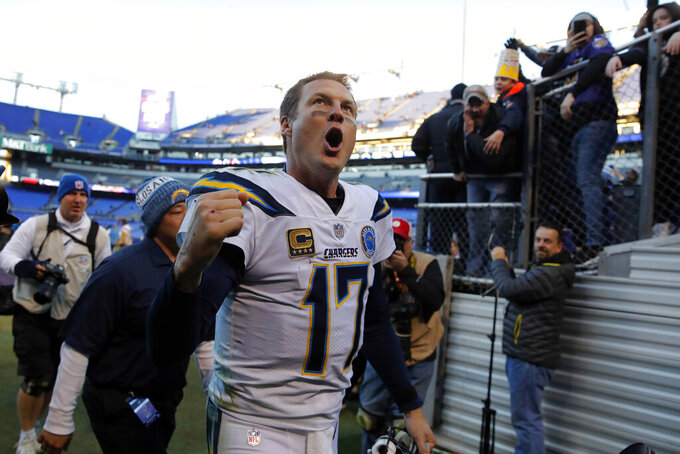 Rivers versus Brady in divisional round of NFL playoffs