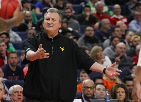 NCAA Bucknell West Virginia Basketball