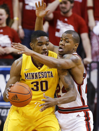 Minnesota Nebraska Basketball
