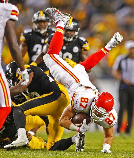 Chiefs Steelers Football