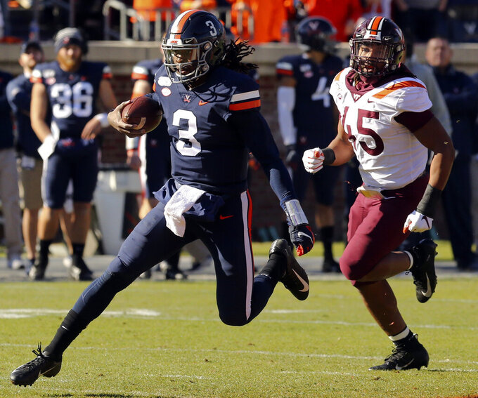 Virginia's Perkins' big week began with hospitalization