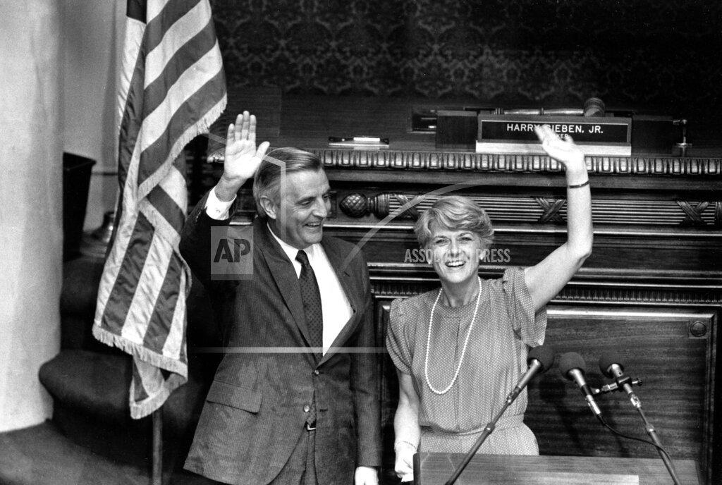 Associated Press Domestic News Minnesota United States Election campaigns U.S. ELECTION MONDALE FERRARO
