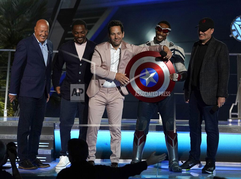 Disney Avengers Campus Dedication Ceremony