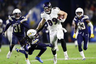 Ravens Chargers Football